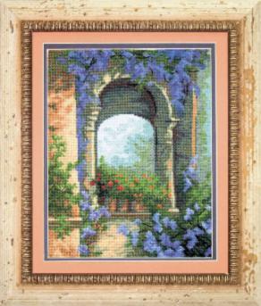 Пейзаж - Цветочная арка