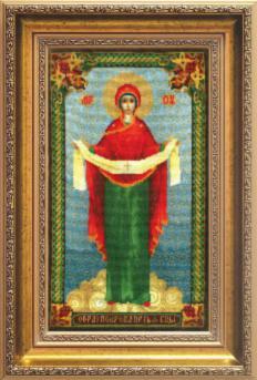 Икона Образ Пресвятой Богородицы Покрова