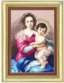 - Мадонна с младенцем