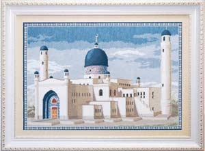 Пейзаж - Мечеть Имангали, Казахстан.