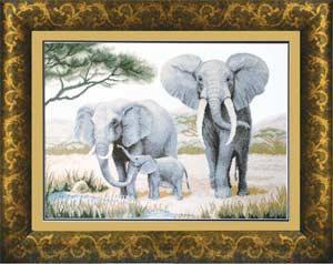 Слоны у воды