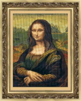 По мотивам Леонардо да Винчи Мона Лиза