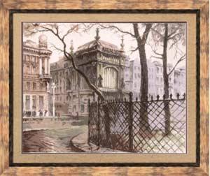 Пейзаж - Питерский дворик