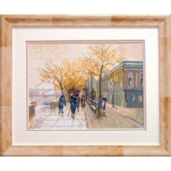 Пейзажи - Зимняя улица