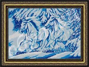 Лошади (Зима) схема