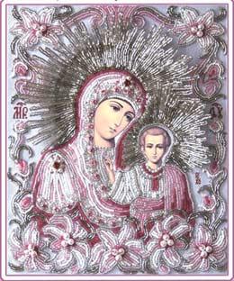 --Богородица Казанская (часть венчальной пары «ЛИЛИИ»)