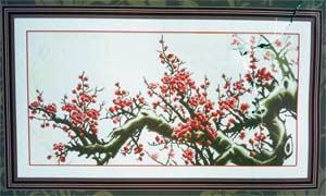 -Цветущая сакура вышивка бисером