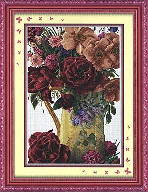 наборы натюрморты и розы