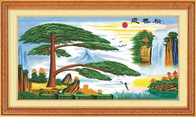 Японский водопад 2 - вышивка крестом