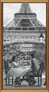 Париж - город любви. Молодость