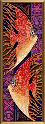 Пара рыб