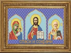 Вышивка бисером Домашний Иконостас Иконы Страна Мастеров