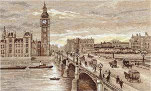 - Лондон. Вестминский мост