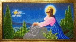 Иисус на оливковой горе