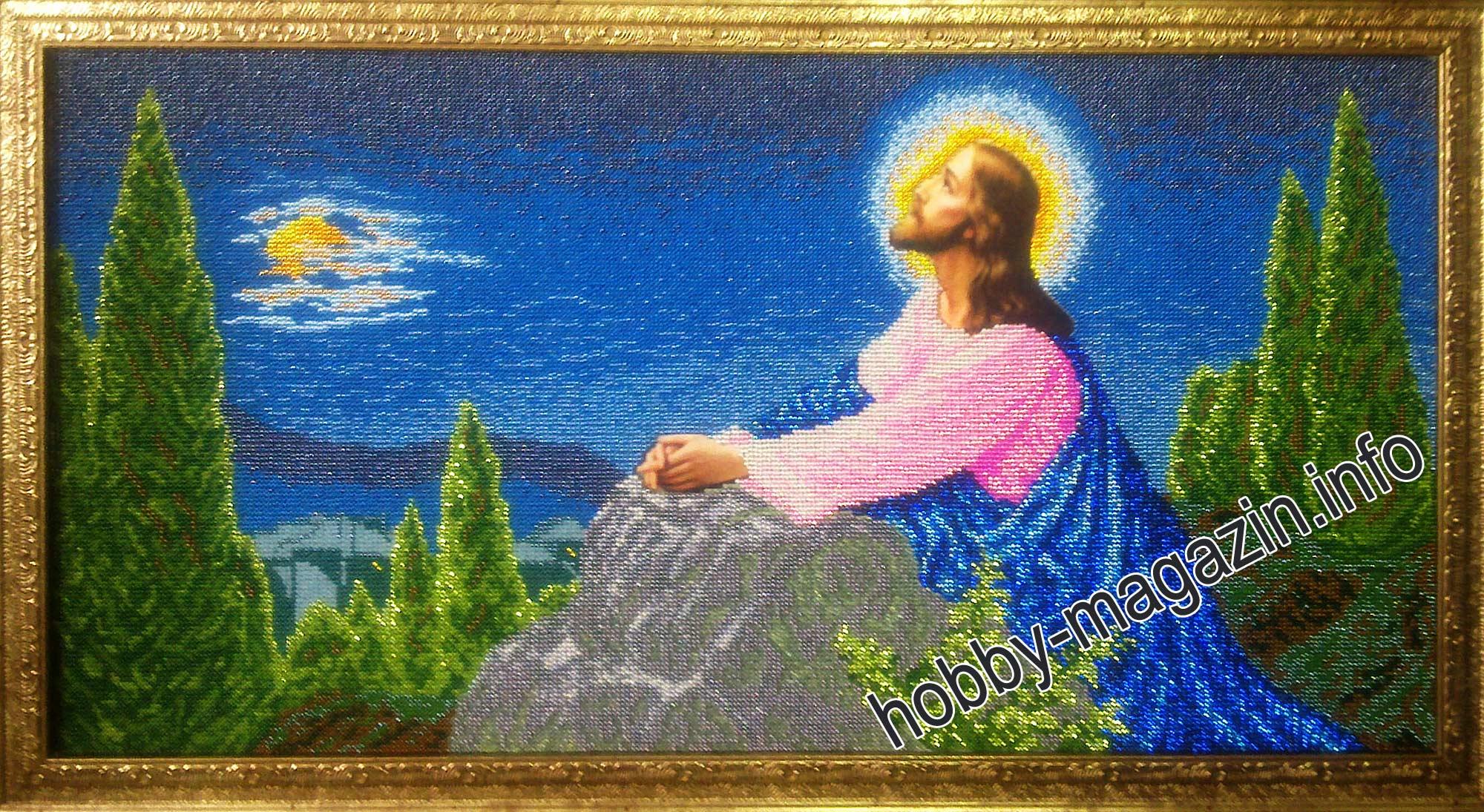 Иисус вышивка бисером схема