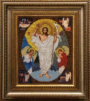 Воскресение Христово набор вышивки бисером